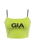 Alphabet GIA Slim Short Vest