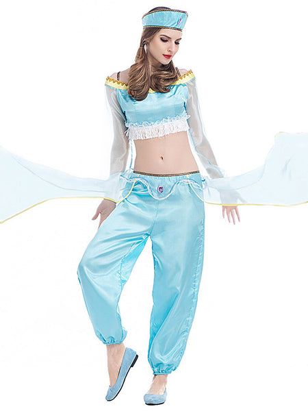 Aladdin Lamp Lady Dance Costume