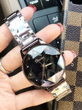 Personality Rhombus Glass Women's Watch