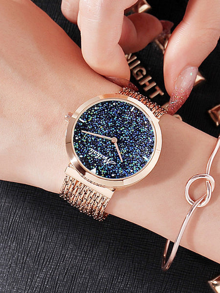 Full Diamond Tassel Women's Watch