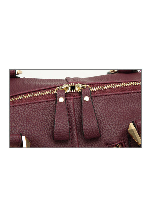 Large Boston Handbag