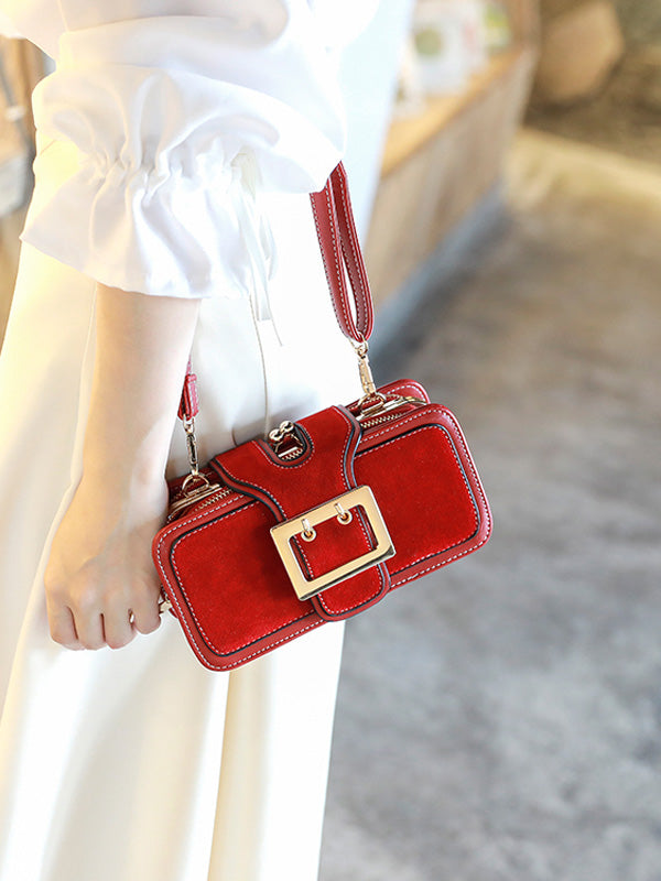 Fashion Frosted Small Handbag