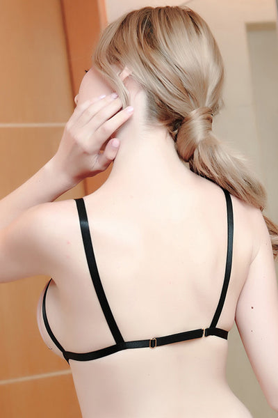 Cross-adjustable Hollow-out Elastic Body Harness