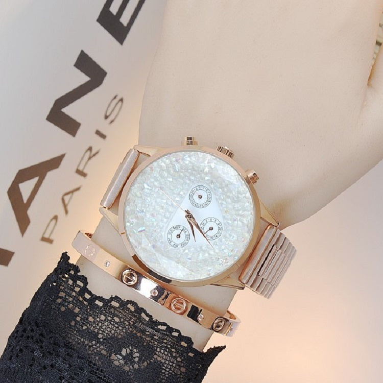 Full Of Stars Large Dial Women's Watch