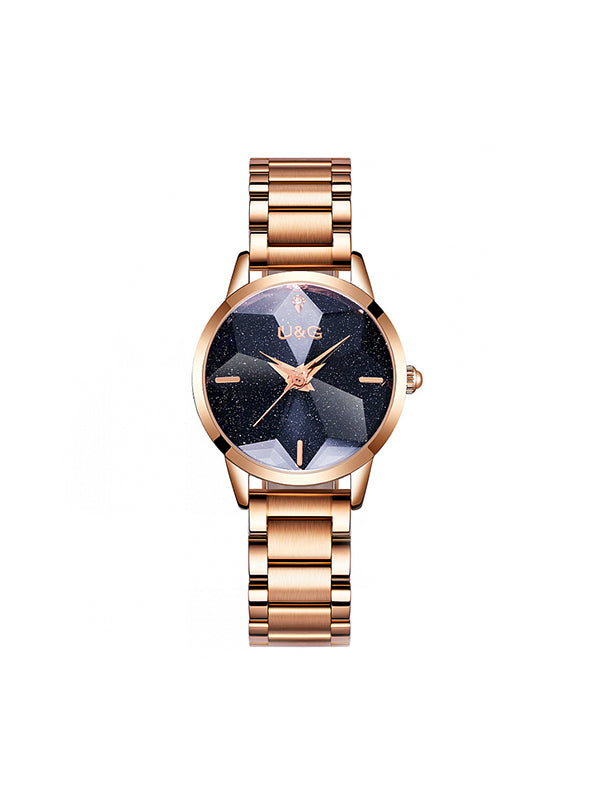 Full Of Star Stainless Steel Women's Watch