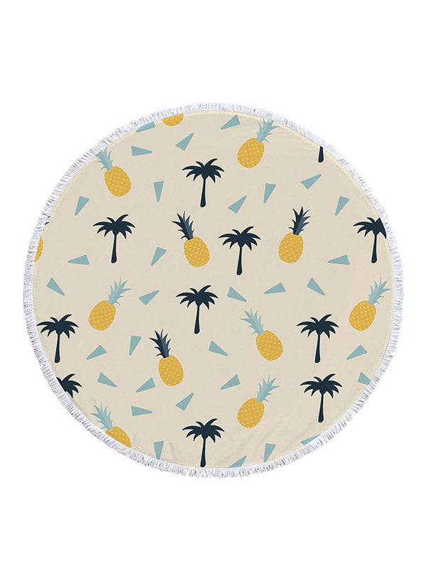 Pineapple&Watermelon Pattern Beach Towel
