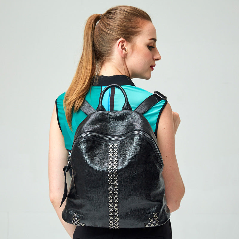 Rivet Balck Women's Backpack