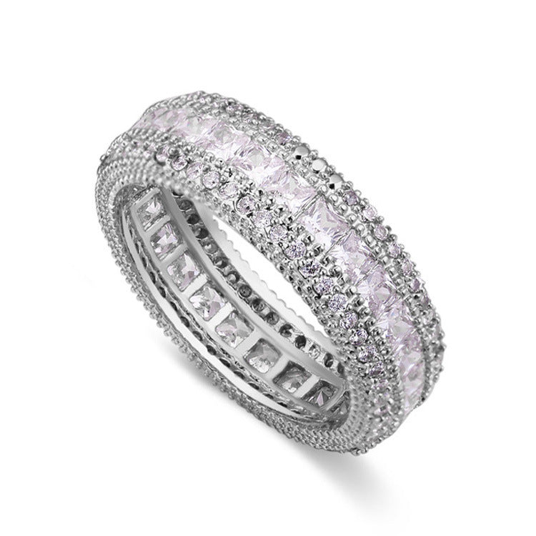 AAA Grade Zircon Women's Ring