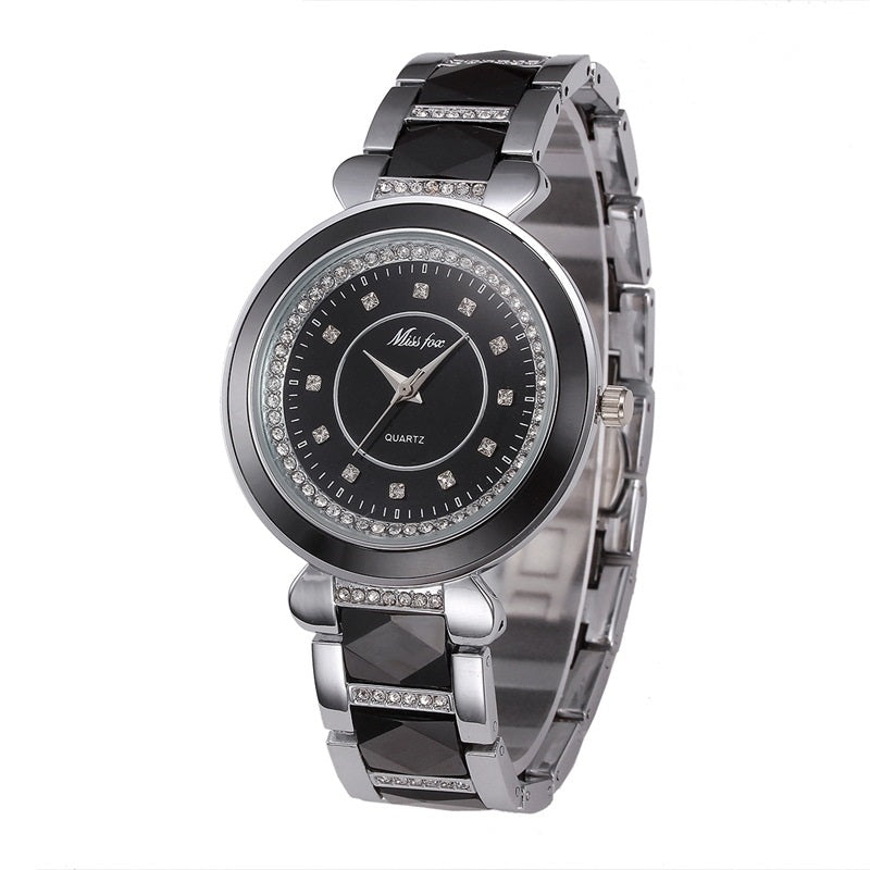 High Quality Round Dial Women's Watch