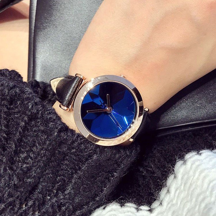 Unique Glass Chassis Women's Watch