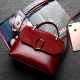 Retro Solid Color Women's Bag