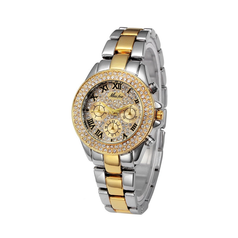 Classic Roman Numberal Scale Women's Watch