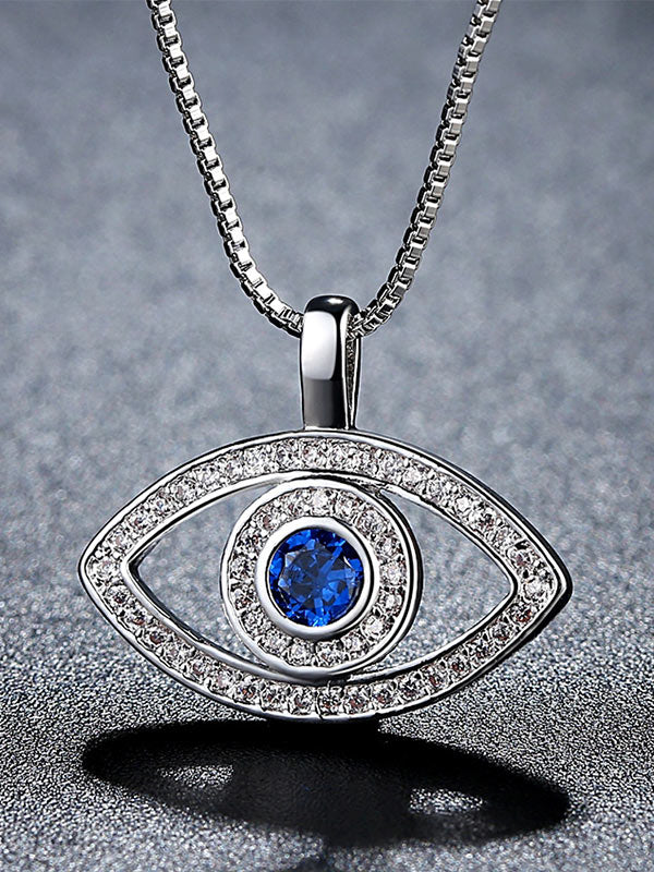 Lucky Blue Eye Necklace