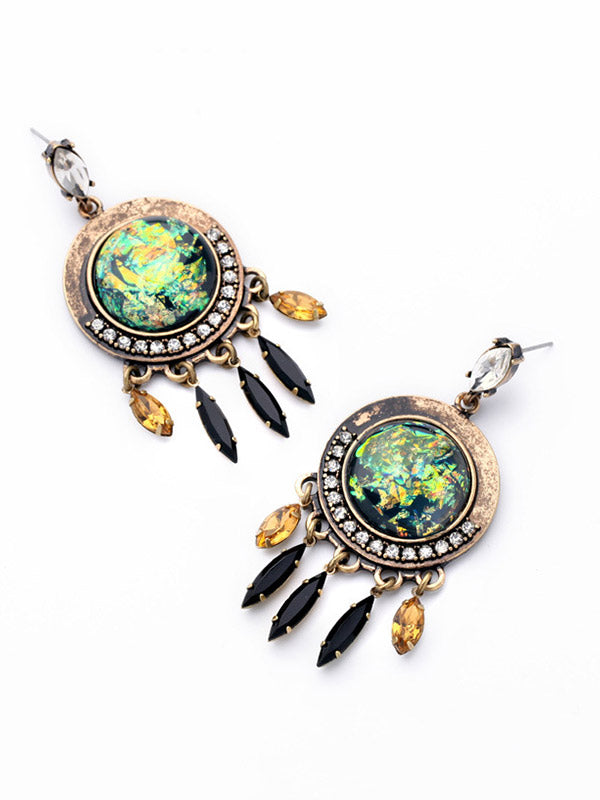 Dreamcatcher Pattern Earrings