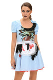 Zombie Kansas Girl Adult Halloween Costume