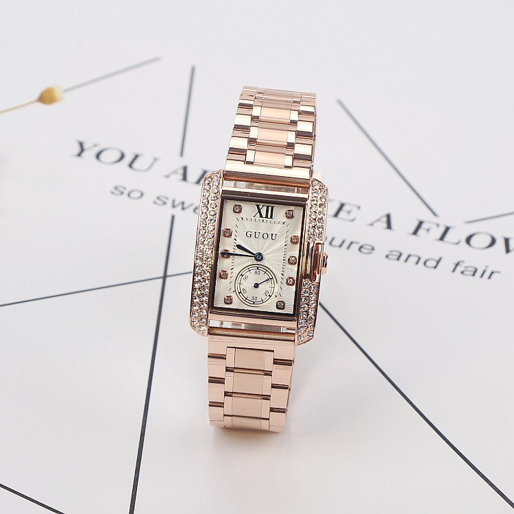 Retro Rose Gold Women's Watch
