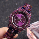 Personality Shining Purple Women's Watch