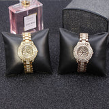 Trendy Czech Diamond Women's Watch