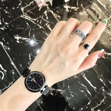 Fashion Personality Starry Dial Women's Watch