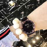 Starry Dial Mesh Strap Women's Watch