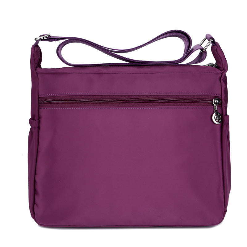 Casual Two Size Nylon Women's Bag