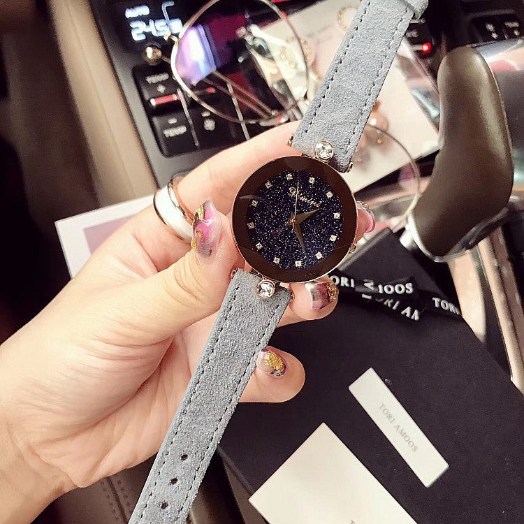 Starry Dial Diamond Scale Women's Watch