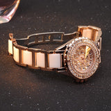Gold Ceramic Women's Watch
