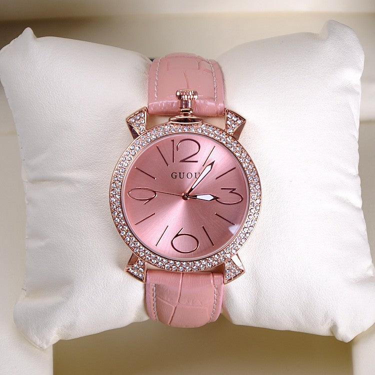 Large Numbers Scale Women's Watch