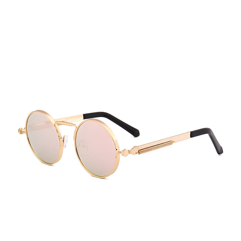 Personality Round Frame Sunglasses