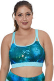 Painting Print Sports Bra Top