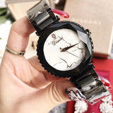 Marble Lightning Stainless Steel Strap Women's Watch