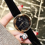 Starry Dial Lightning Pattern Women's Watch