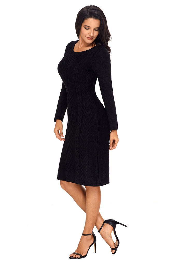 Women's Hand Knitted Sweater Dress