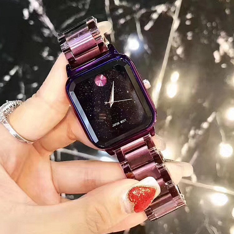 Square Starry Sky Women's Watch