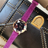 Octagonal Mirror Starry Sky Dial Women's Watch