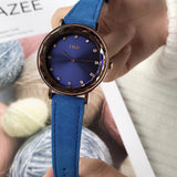 Personality Rhinestone Scale Women's Watch