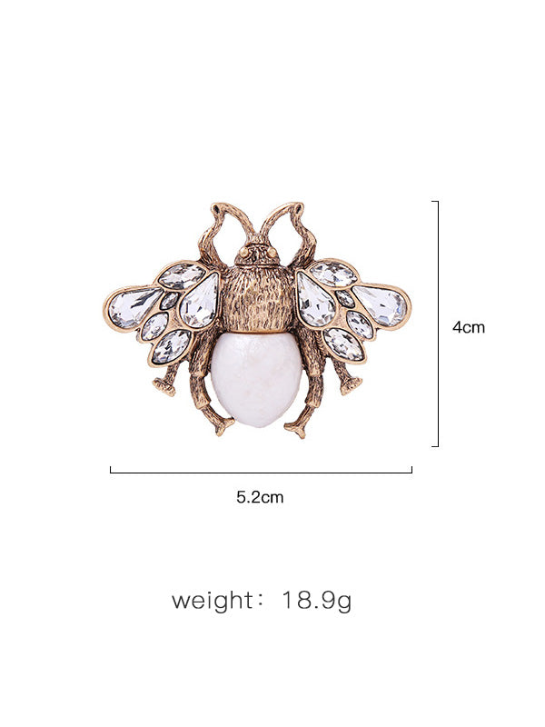 Retro Alloy Insect Brooch
