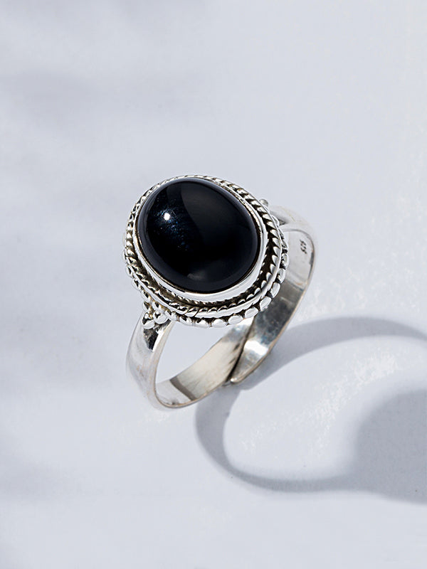 925 Sterling Silver Adjustable Ring