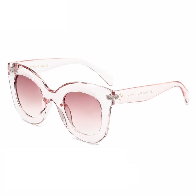 Fashion Large Frame Cat's Eye Sunglasses