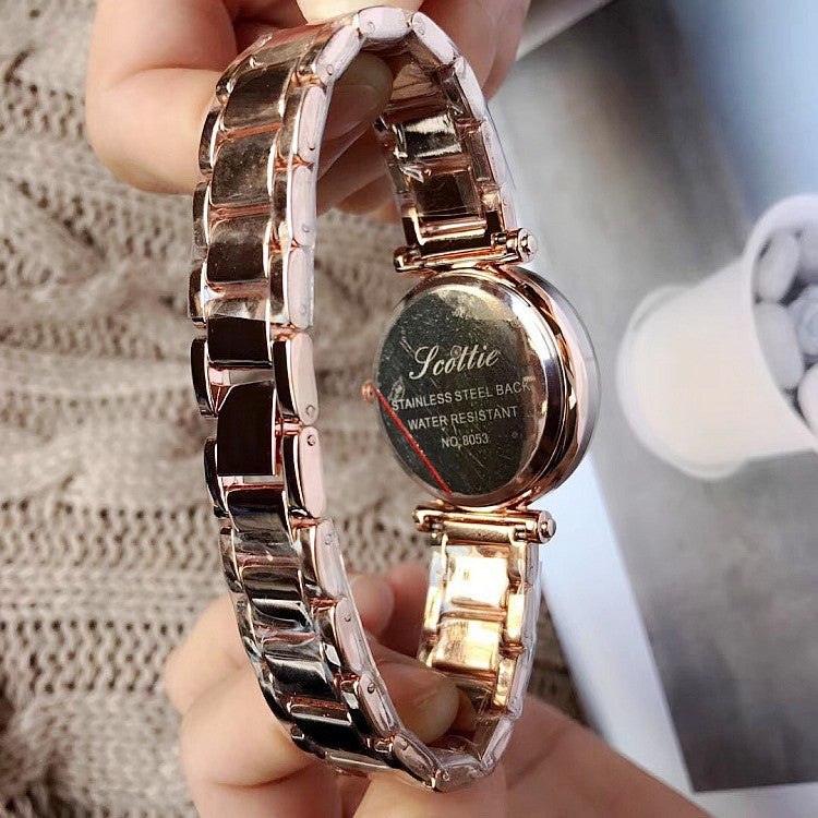 Starry Pattern Bracelet Women's Watch