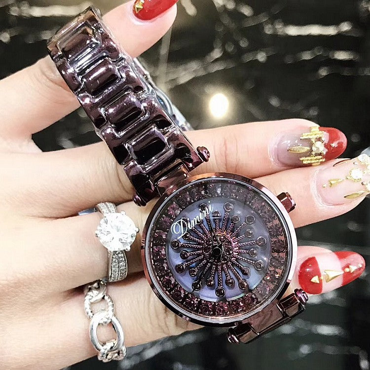 Shell Chassis With Diamond Women's Watch