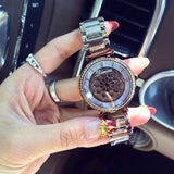 Roman Scale Shell Chassis Women's Watch