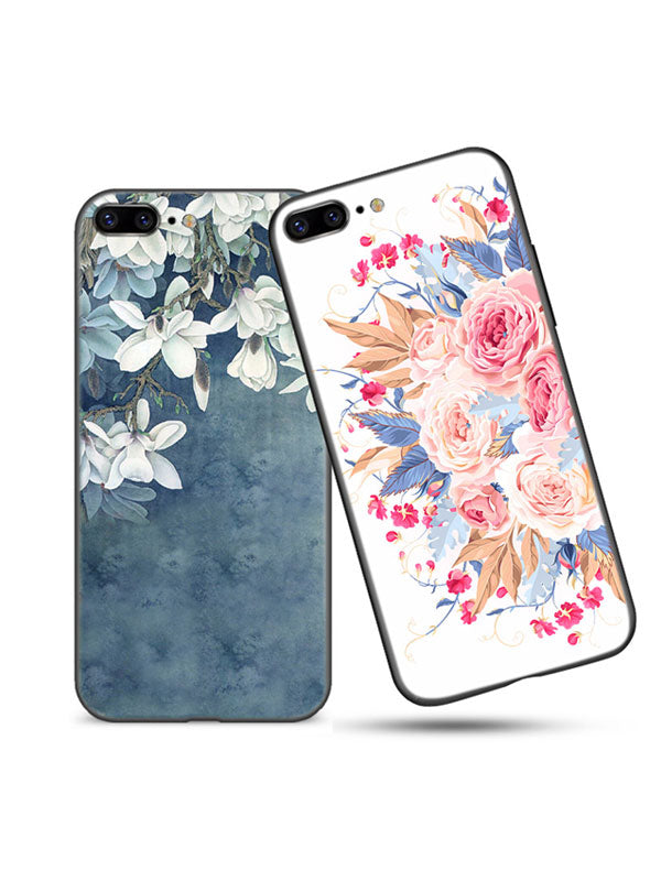 Painted Embossed Ancient Style Phone Case