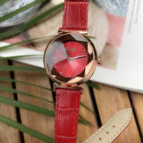 Irregular Mirror With Scale Women's Watch