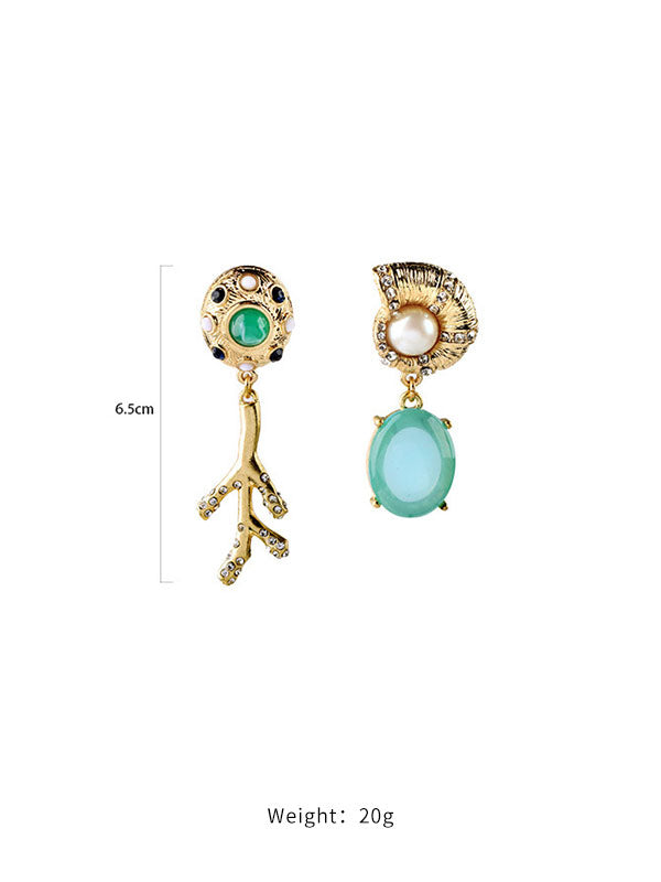 Branches Irregular Shape Earrings