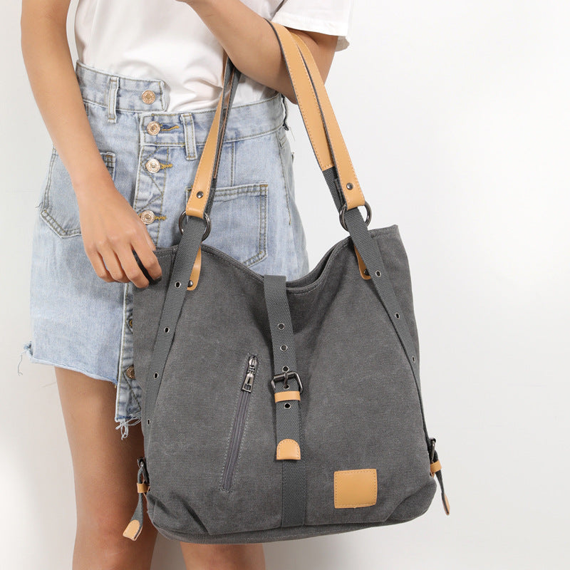 Large Capacity Canvas Handbag
