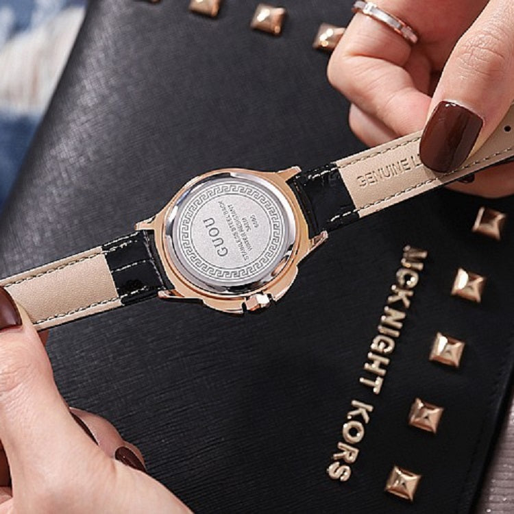 Vortex-shaped Rotatable Women's Watch