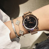 Magnetic Buckle Stainless Steel Women's Watch