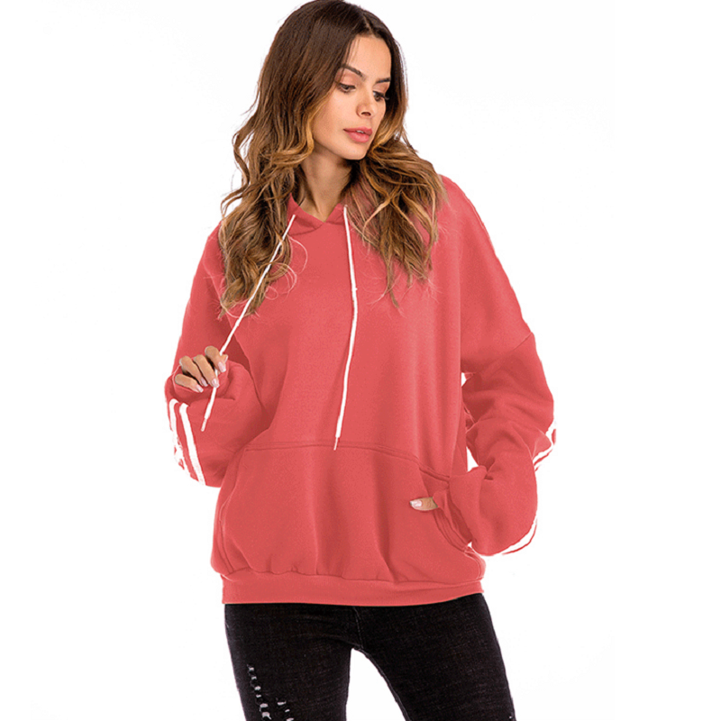 Bat Sleeve Hoodie Thicken Sweatshirt Plus Velvet