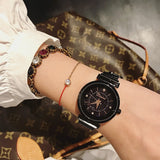 Star Chassis with AA 4 Diamonds Women's Watch